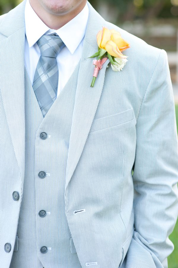 Blue Groom Suit