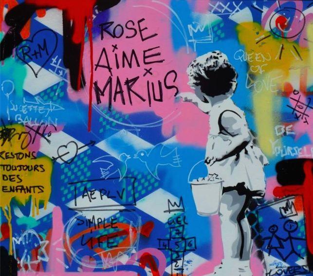 Rose et Marius aime le Street Art !EVENEMENT ! Vincent Richeux qui est notre artiste coup de coeur en STREET ART s'associe à Rose et Marius pour créér un happening de taille à notre boutique d'Aix en Provence, le 28 novembre prochain.  Inscrivez vous avant le 18/11 sur : contact@roseetmarius.com