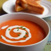 Cream of Tomato Soup | Get in my belly! | Pinterest
