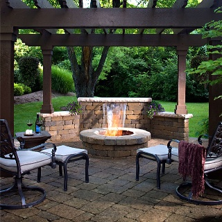 8 best Barbecue, Pits, and Pergolas images on Pinterest | Home ideas Pondside Backyard Ideas Fire on barn fire ideas, backyard fire friends, backyard fire places, backyard fire art, deck fire ideas, backyard fire pit, wall fire ideas, outdoor fire ideas, backyard fire designs, halloween fire ideas,