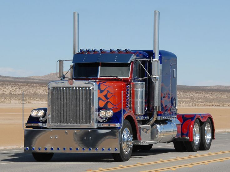 .......OMG! I want a Ride in this Optimus Prime truck!