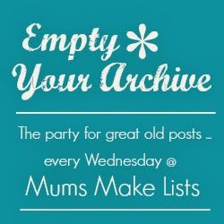 Mums make lists ...: Empty Your Archive - #33