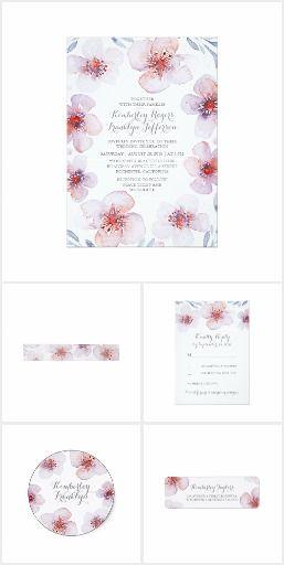 Botanical Floral Garden Wedding Collection