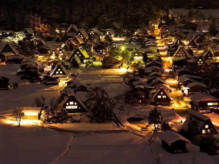 Historic Villages of Shirakawa-gō and Gokayama... #白川郷 ...