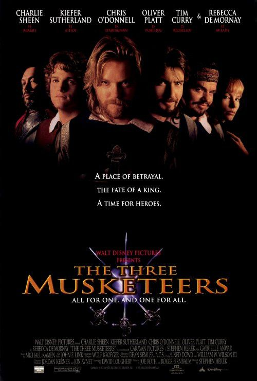 CAST: Kiefer Sutherland, Charlie Sheen, Chris O'Donnell, Oliver Platt, Rebecca DeMornay, Tim Curry, Gabrielle Anwar, Julie Delpy, Michael Wincott; DIRECTED BY: Stephen Herek; WRITTEN BY: David Lougher