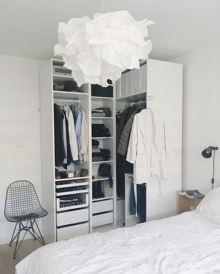 Ikea Pax, open closet, wardrobe ideas, open wardrobe (mit