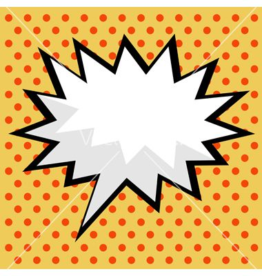 Pop art comic speech bubble vector by PiXXart on VectorStock®