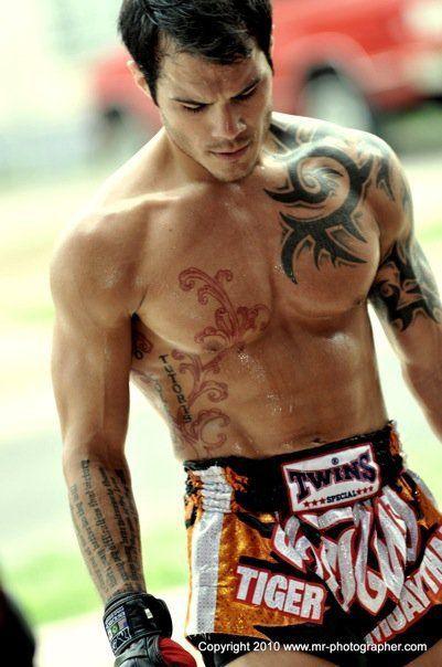 Roger Huerta ;)...now a coach at Tiger Muay Thai Phuket