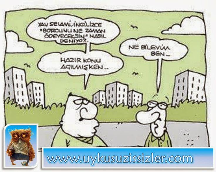 Karikatür: Borcunu ne zaman ödeyeceksin..