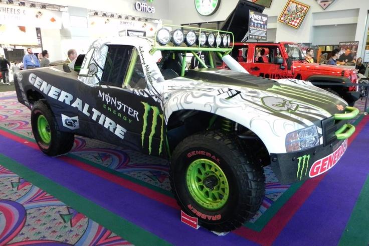 Race truck by General Tire