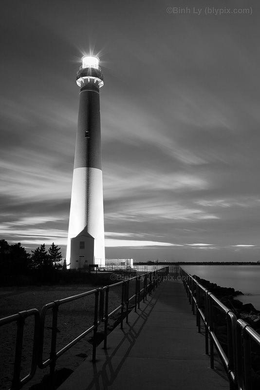 Barnegat Lighthouse - New Jersey Shore Photo Art Print - Barnegat ...