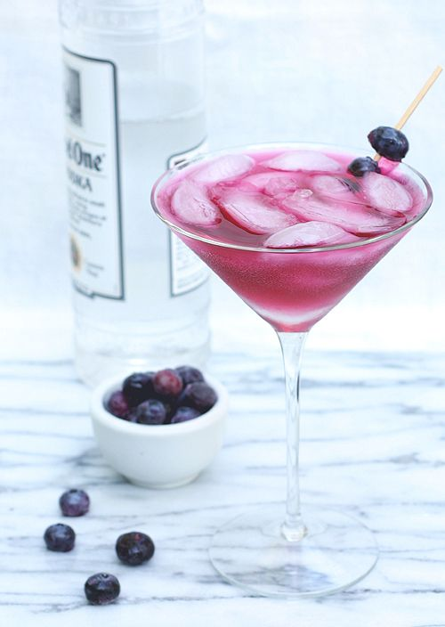 SCD Blueberry-Infused Vodka