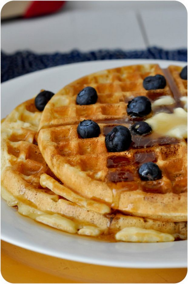 "The Greatest Waffle Recipe | ..♥Delicious"" Desserts ..."
