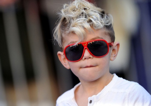 Little kid swag, Red sunglasses!!!