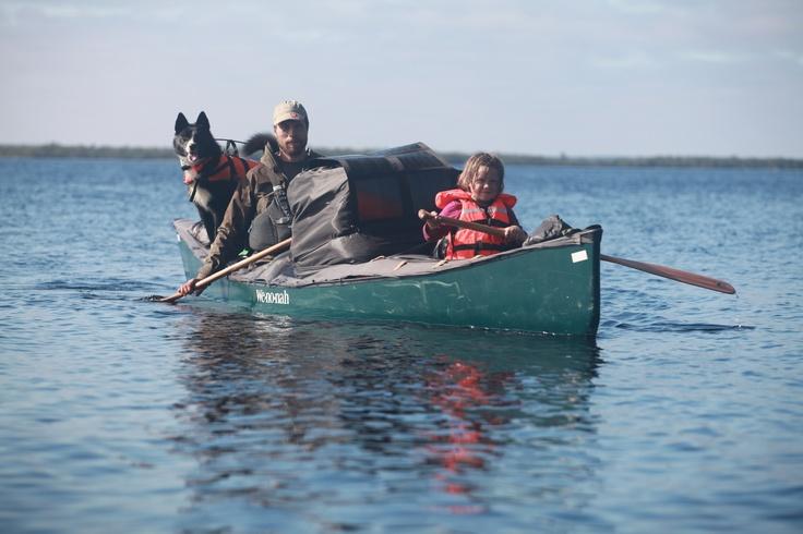 Far og datter i Vildmarken - 45 dage i kano. Et eventyr i det nordlige Skandinavien, i fantastisk natur. En god måde at bygge bånd mellem far og sin 3 år datter.