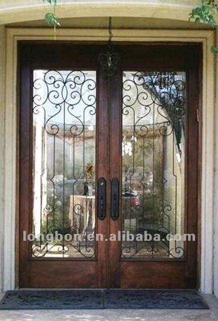Look what I found Via Alibaba.com App: - Wrought iron entrance doors