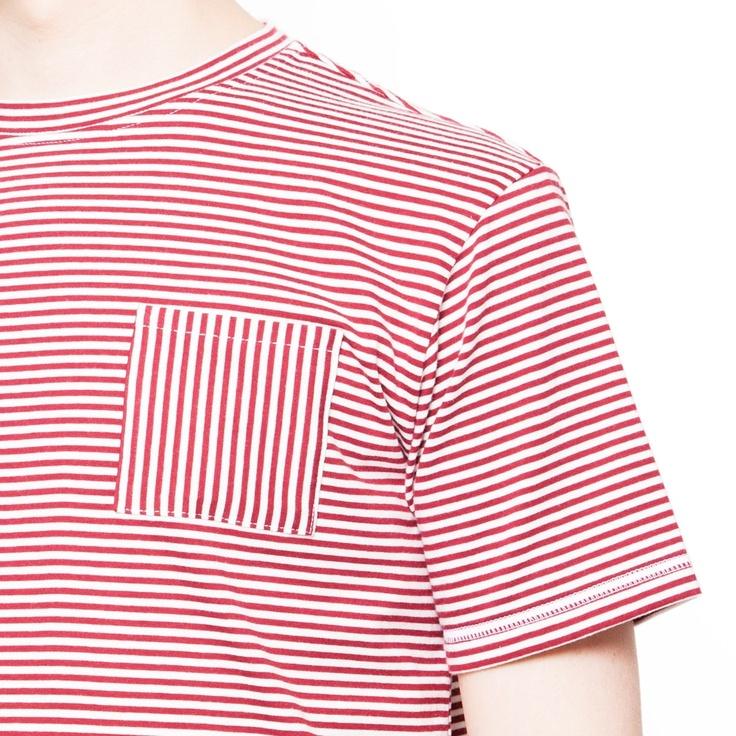 Nurmi Mens' Fair trade organic cotton T-shirt // Curt