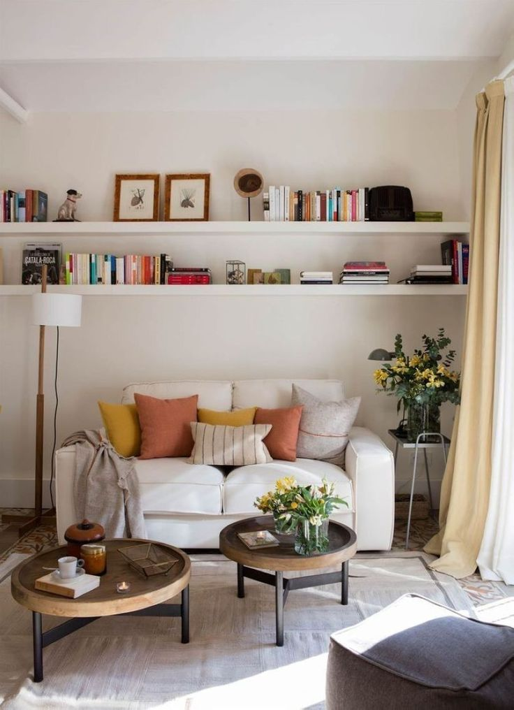 Gorgeous 47 Neat and Cozy Living Room Ideas for Small Apartment