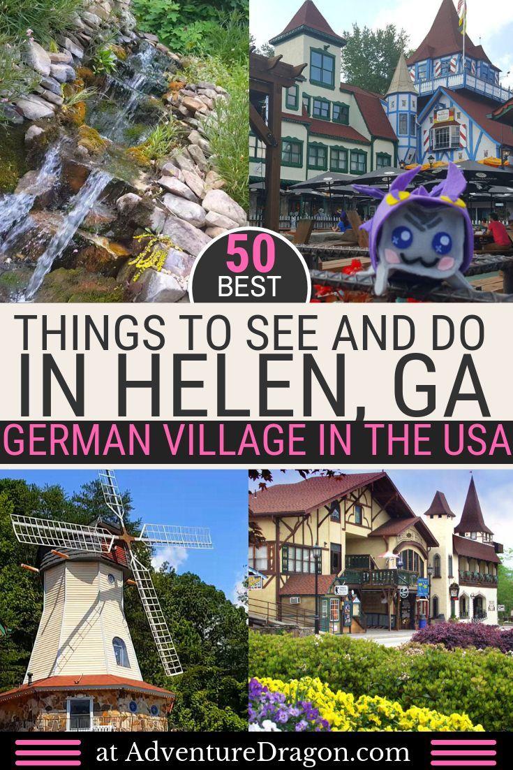 50 Free And Fun Things To Do In Helen Georgia Georgia Travel Hiking In Georgia Travel Usa