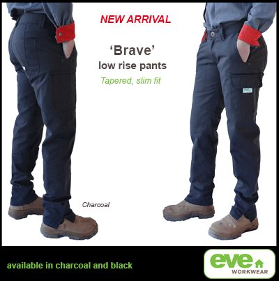 Brave Low Rise womens work pants