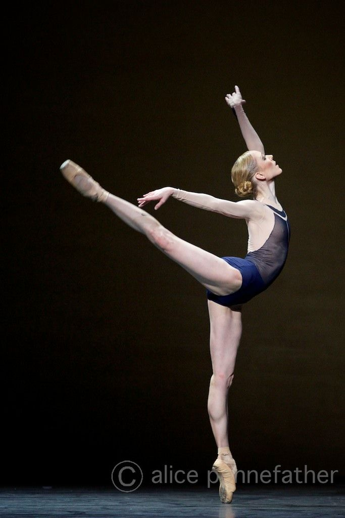 "Sarah Lamb, ""The Human Seasons"", The Royal Ballet - Photographer Alice Pennefather"