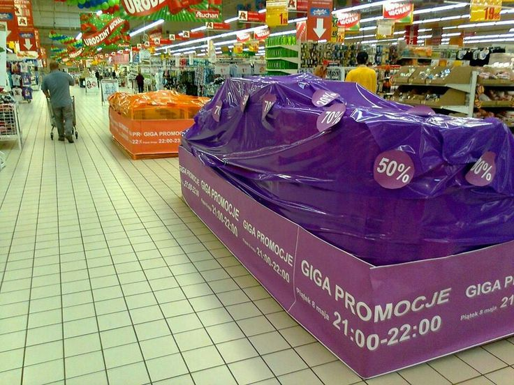 Covered products attracts more attention of customers. Tricky :)