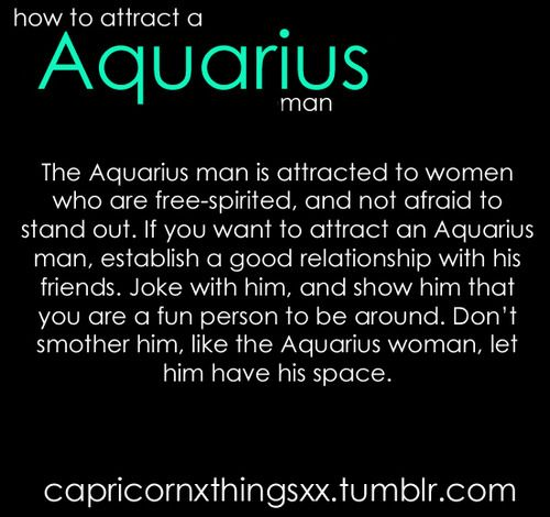 How To Attract The Aquarius Male 7
