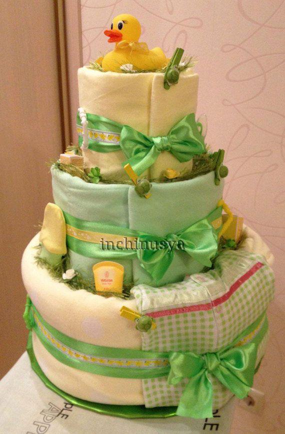 Diaper cake inchinusya на Etsy