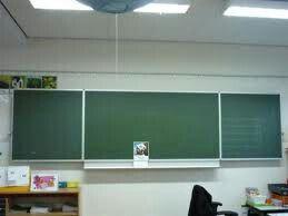 Schoolbord 'oud'