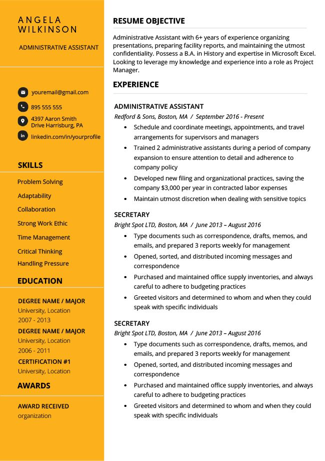 15 resume objective examples  how to write a career