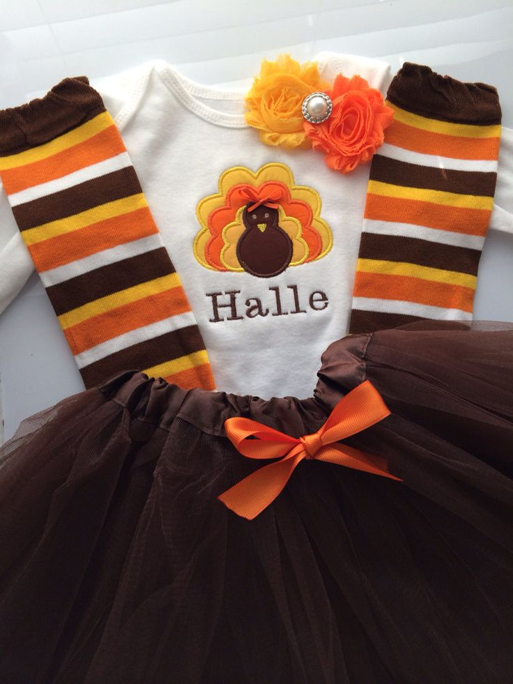 Toddler Girl thanksgiving outfit thanksgiving tutu by AboutASprout, $56.00