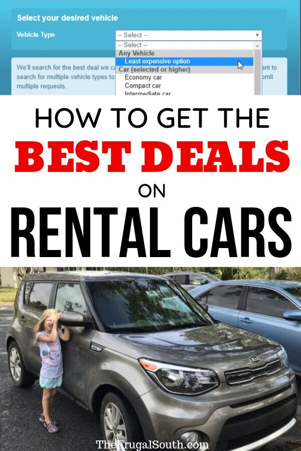 How To Use Autoslash For The Best Rental Car Deals Car Rental