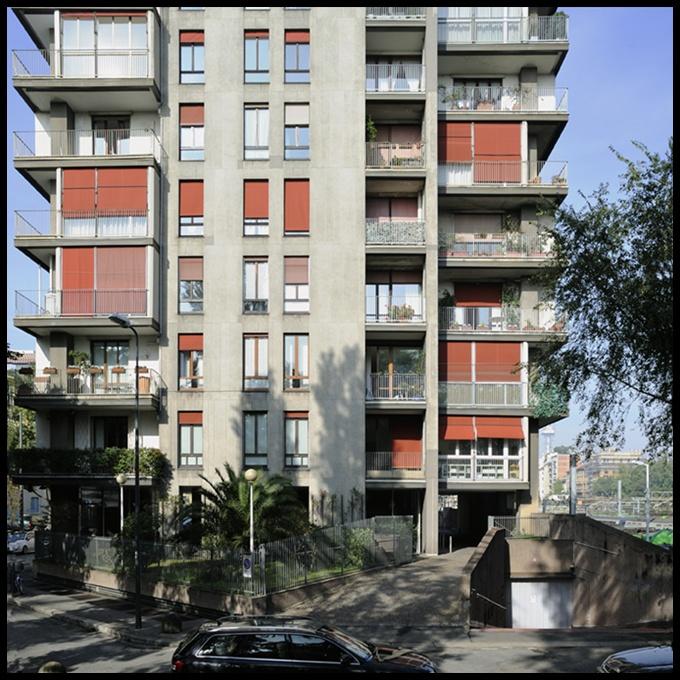 Foto 2009 architetto vico magistretti torre al parco for Via magistretti milano