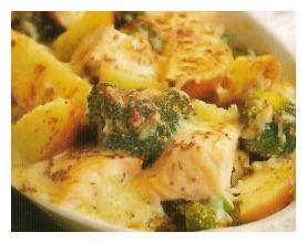 Even een snelle doordeweekse schotel. Je kunt deze maken met aardappelen maar ook met (grote) pasta. Als vis kun je verse zalm gebruiken maar ook een stevige witte vis. Hoeveelheden laat ik aan jullie eigen eetlust over behalve wat betreft de saus. Die hoeveelheid is voor een schotel voor 4 personen. Aardappelen schillen en in [Lees verder ...]