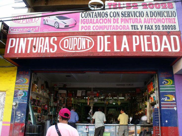 Pinturas Dupont en La Piedad de Cavadas, Michoacán de Ocampo