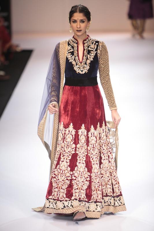 Shyamal & Bhumika at Lakme Fashion Week Winter/Festive 2012