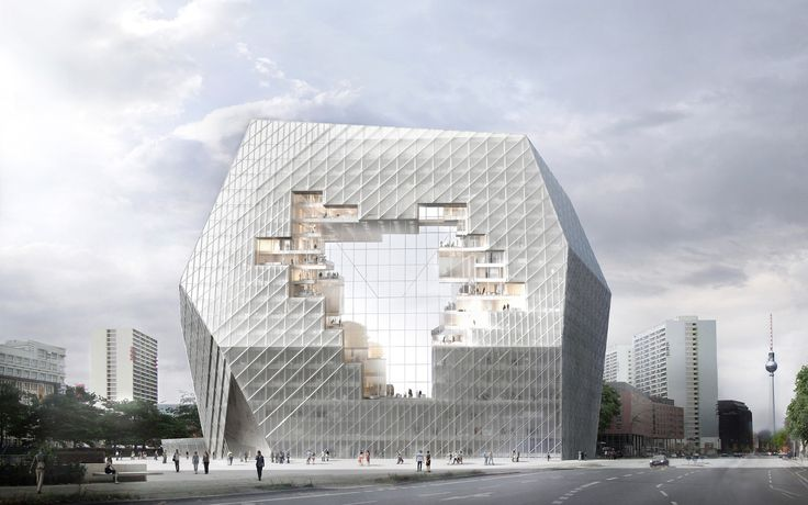 Gallery of BIG, OMA, Büro-OS To Compete for New Media Campus in Berlin - 26