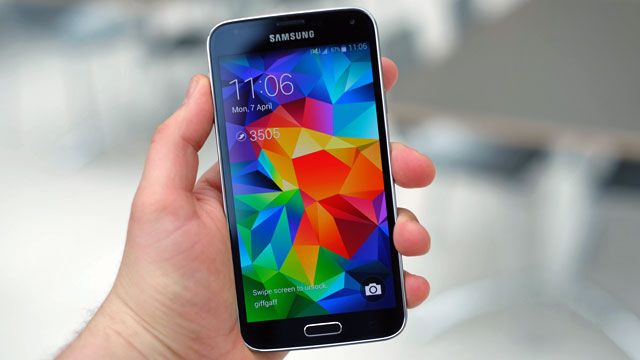 Best Android Phones 2014 | Round-Up - Samsung Galaxy S5 - Trusted Reviews