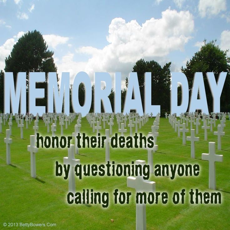 memorial day not veterans day