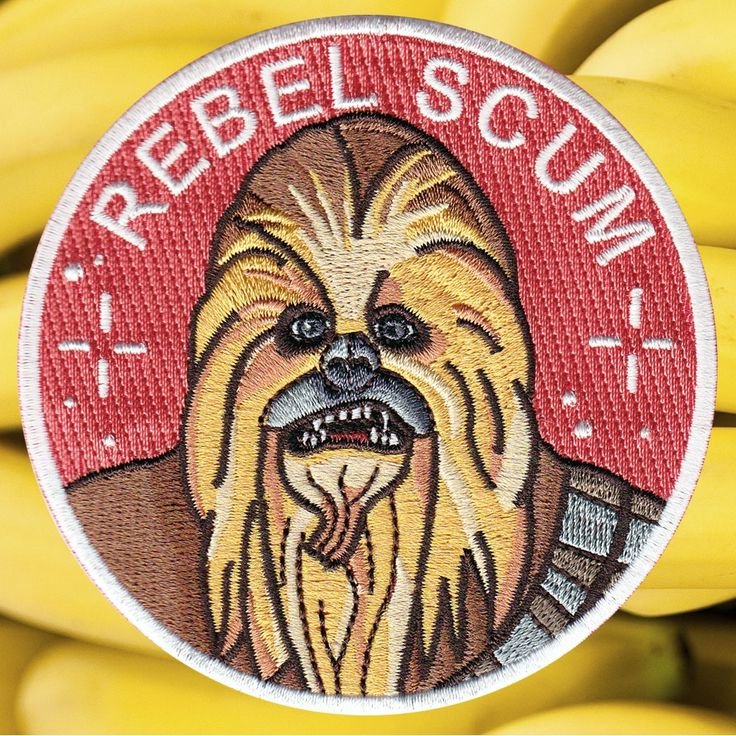 Chewbacca patch