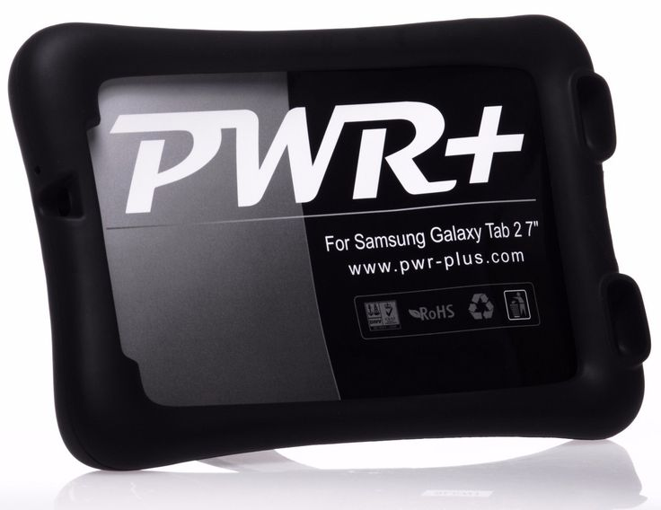 Pwr Protective Case for Samsung Galaxy Tab 2 3 7.0 10.1 Silicone Cover