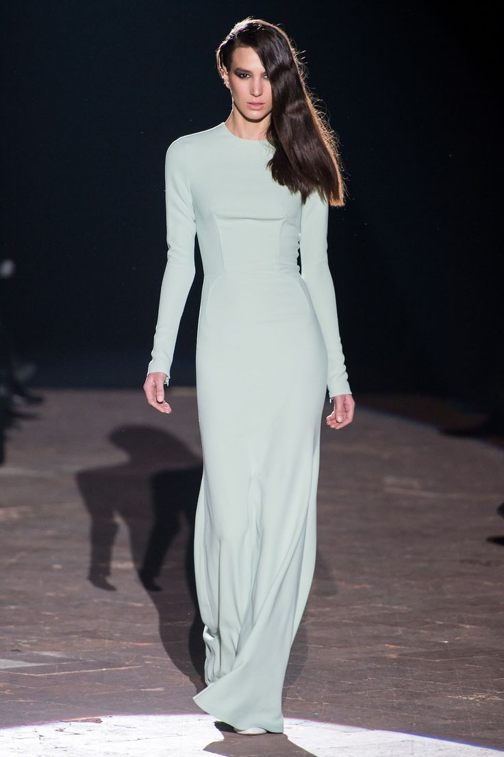 Francesco Scognamiglio Fall 2013 Ready-to-Wear Fashion Show - Mijo Mihaljcic