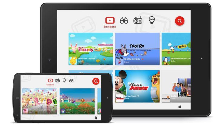 YouTube lance son application YouTube Kids en France