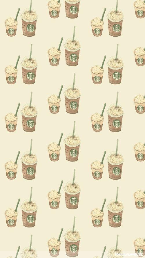 Starbucks coffee coffee and starbucks on pinterest - Cute coffee wallpaper ...