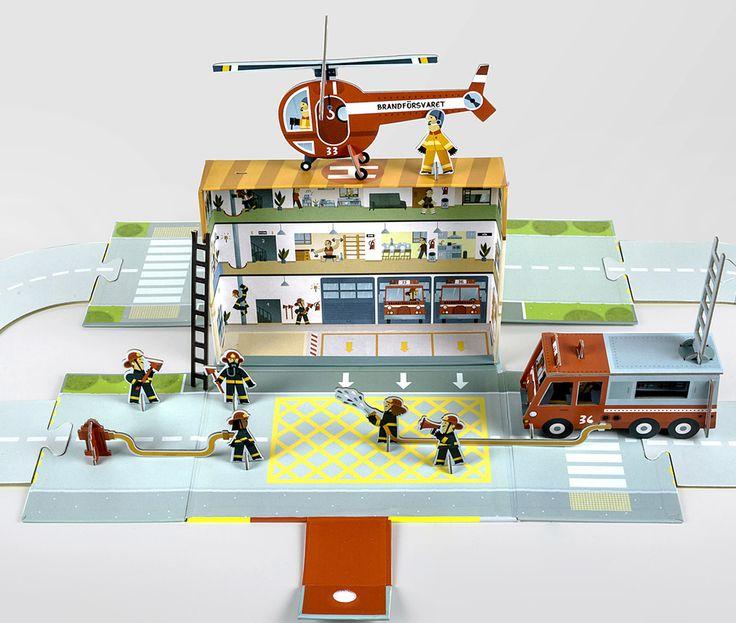 Build your own firestation!