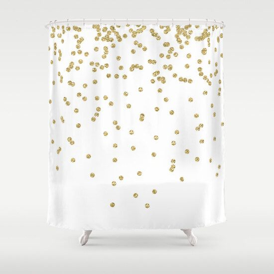 gold and silver shower curtain. Shower Curtain  Gold Dots Teen Best 25 shower curtain ideas on Pinterest