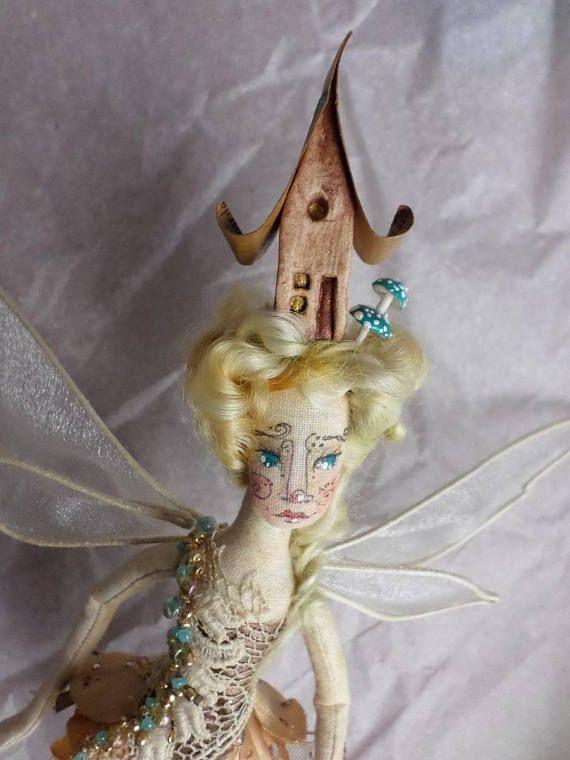 OOAK Fairy Art Doll  Baroness Meliora Crystalina Stonebrook