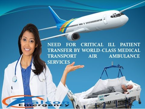 Now you have available Falcon Emergency air ambulance services from India with low-cost and advanced medical care and best medical support.