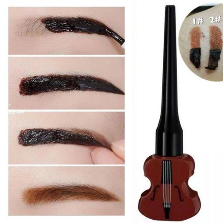$ 1,99 1Pc Geige Augenbrauen Farben Creme Maquiagem Gel Wasserdichte Peel Off Braue Enhancer - BornPrettyStore.com