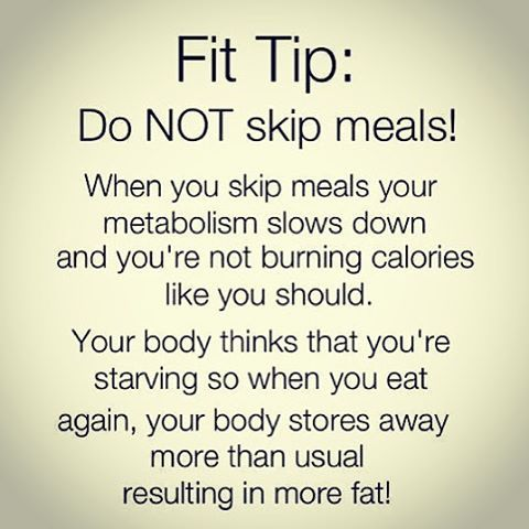 Biggest mistake people make when trying to lose weight or get in shape. They tend to eat LESS food. They think if they eat more they will gain weight. But in fact that is NOT the case. You MUST eat MORE 'QUALITY' food instead. . ~~>3 Simple Rules: -Eat every 2-3 hours -Pair a Complex Carb with a Lean Protein at EVERY meal -Follow proper portion sizes . Click 'SHARE' to help a friend on Fit Tip Friday! :D
